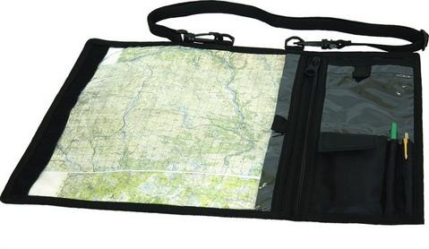 Карта в сумке для планшета.